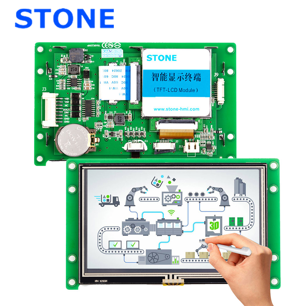 Smart LCD Touch Panel 4.3
