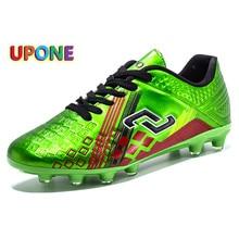 Mirror Spike-Sneakers Comfortable Football-Shoes Women New Green Deportivas Low-Top Zapatillas