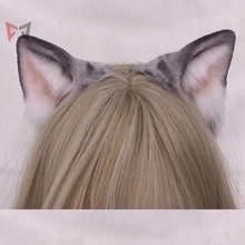 Siyah gün yeni orijinal el yapımı amerikan Shorthair kulak saç çember canavar kedi güzel şapkalar özel yapılmış cosplay noel hediyesi
