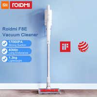 Xiaomi Roidmi F8E Aspirador inalámbrico de mano para el coche de Casa colector de polvo ciclónico filtro Aspirador cepillo multifuncional