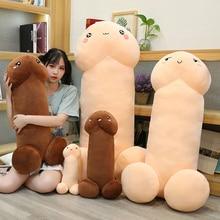 30-110 см длинный реалистичный пенис плюшевые игрушки секс трюк куклы реальной жизни пенис выражения плюшевая подушка сексуальная игрушка по...