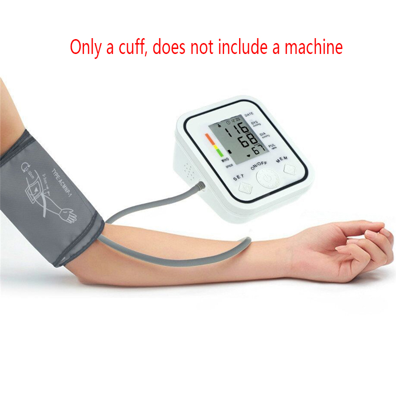Large Adult Blood Pressure Cuff For Arm Blood Pressuremonitor Meter Electronic Blood Pressure Meter Special Cuff Emergency Kits