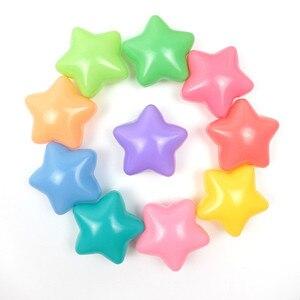 Image 5 - 50/100 Pcs écologique coloré balle fosse en plastique souple océan balle eau piscine océan vague balle jouets de plein air pour enfants enfants bébé