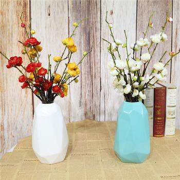 55 Cm duże sztuczne czerwone kwiat śliwy kwiat jedwabna gałąź wiśnia sztuczne kwiaty ślub dom ogród strona kwiat śliwy dekoracja tanie i dobre opinie CN (pochodzenie) Plum blossom Gałąź z kwiatami Ślub Jedwabiu Wedding decoration Home decoration Thanksgiving Landscape design decoration