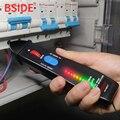 Бесконтактный вольтметр с индикатором напряжения BSIDE AVD06 07  детектор электрической ручки с 3 цветами  8 ламп  12-1000 в