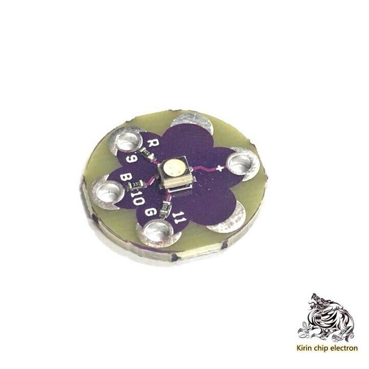 5PCS/LOT LilyPad TriColor LED RGB TriColor LED Panel Sensor Indicator Panel