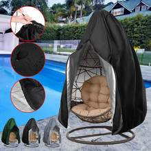 Hanging Egg Chair Cover Waterproof Patio Swing Dustproof Chair Cover For Outdoors Garden Protective Case Hanging Egg Chair Seat(China)