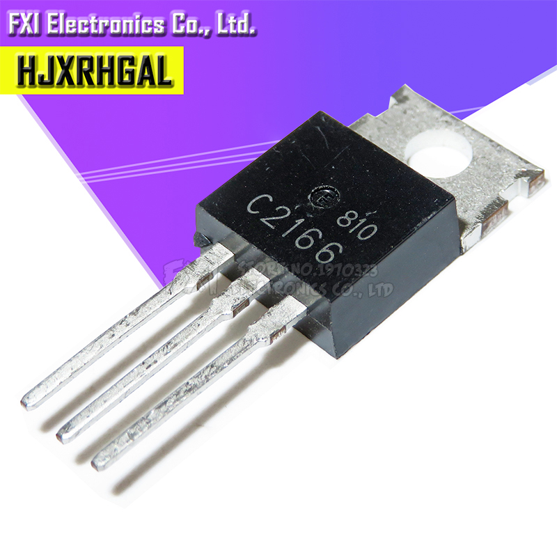 10pcs/lot 2SC2166 C2166 TO-220 High-frequency Transistor New Original