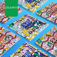 2 Books 96-page Coloring Book For Children Adult Relieve Stress Kill Time Graffiti Painting Drawing Art Book busy town board book page 2 page 2