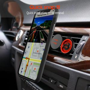 Image 5 - Phone Holder For Phone In Car Air Vent Mount, For Phone in Car Air Vent Clip Mount No Magnetic Mobile Phone Holder GPS Stand