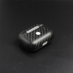 Image 3 - Real Carbon Fiber Case For AirPods 2 for AirPods Pro Wireless Earphone Charging Case Carbon Fiber LED Cover Accessories