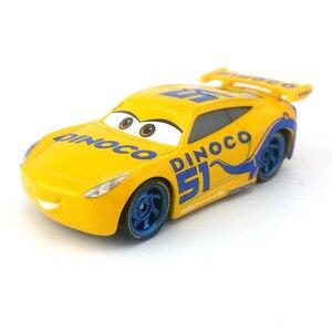 Image 2 - דיסני פיקסאר מכוניות 3 27 סגנונות לייטנינג מקווין מאטר ג קסון סטורם רמירז 1:55 Diecast מתכת סגסוגת דגם מכונית צעצוע מתנה עבור ילדים