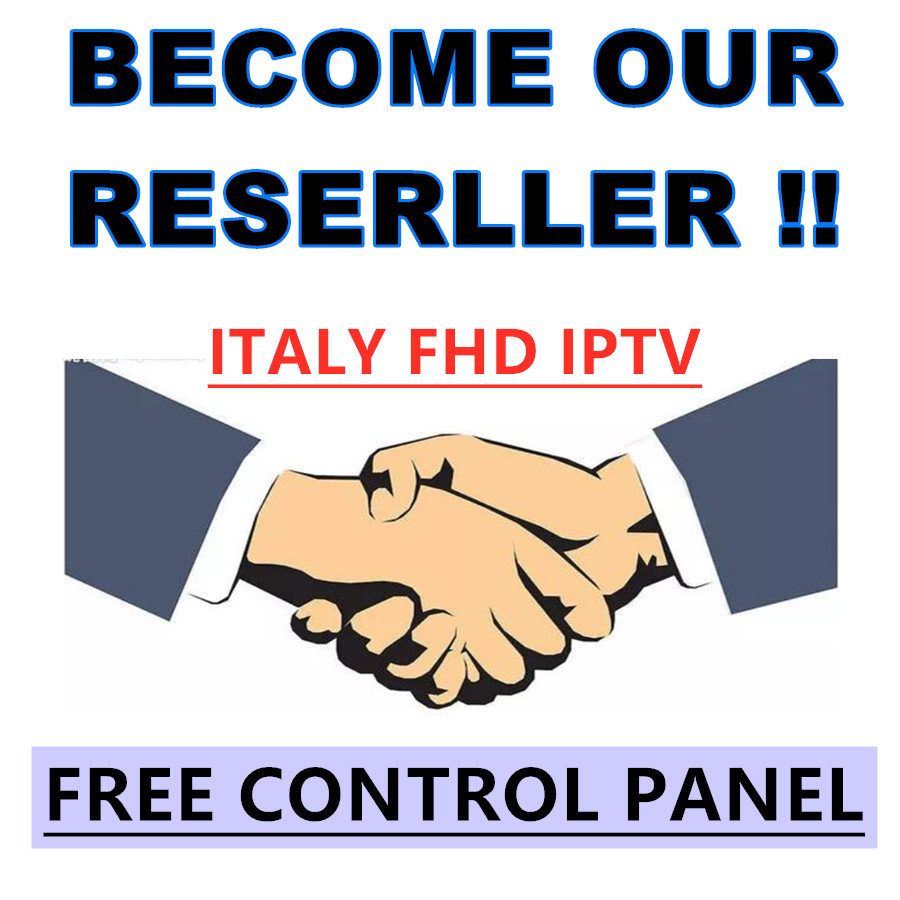 ITALY IPTV Control Panel With Credits For IPTV Resellers IPTV M3U Supports Android Smart Tv Enigma2 MAG PC IOS
