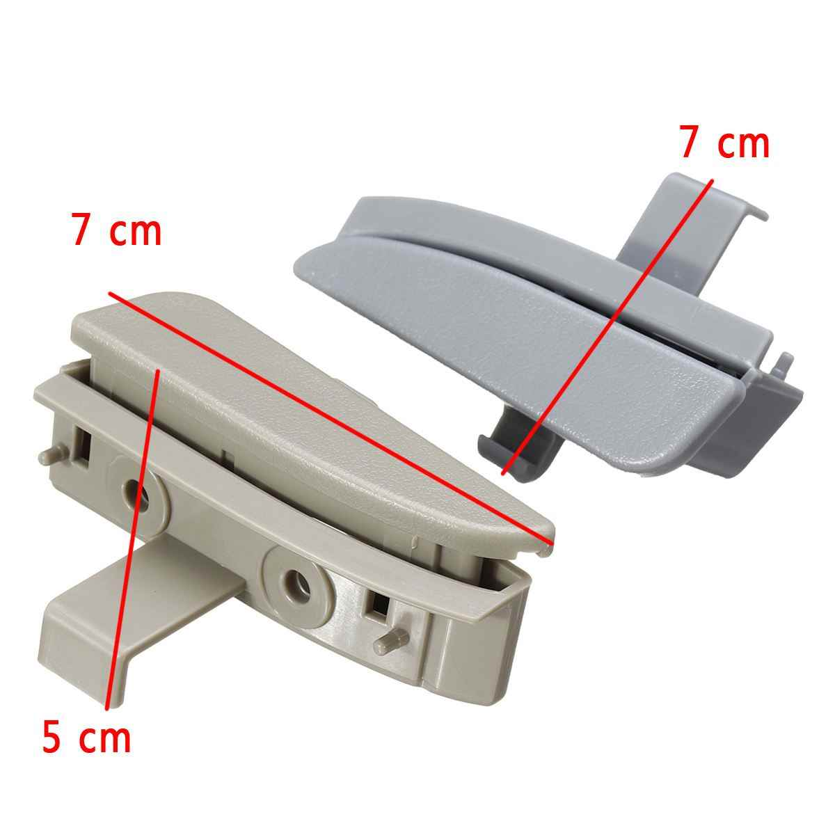 Replaces 58910AD030B0, 58910A-D030B0 APDTY 137027 Rear Gray Center Console Latch Fits 2005-2012 Toyota Tacoma