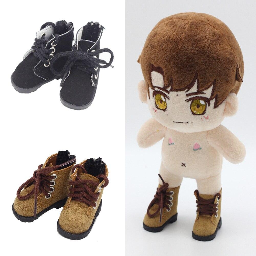 Novo 5cm sapatos para bonecas bjd brinquedo botas casuais 1/6 ginásio tênis para exo 20cm coreia kpop bonecas de pelúcia accessorries para boneca brinquedo