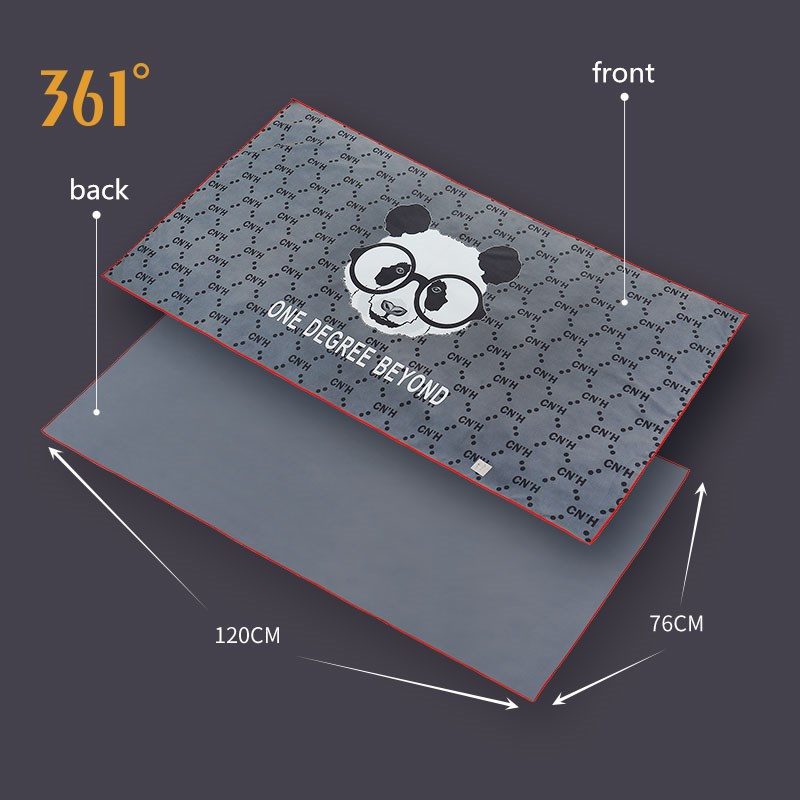 361 grande toalha de microfibra para natação