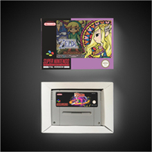 أسطورة Zeldaed إلهة ويسكومد EUR نسخة آر بي جي بطاقة الألعاب بطارية حفظ مع صندوق البيع بالتجزئة