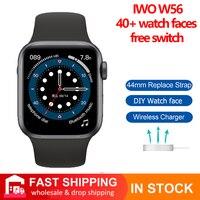 IWO W56 inteligente reloj de los hombres para IWO 13 Bluetooth a las mujeres, reloj de marca la vida impermeable 2021 Betther que IWO W26