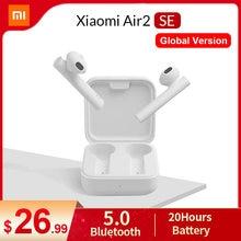 Xiaomi Air2 SE глобальная версия TWS Mi True беспроводные Bluetooth наушники 2 Basic Air 2 SE наушники 20H батарея сенсорное управление