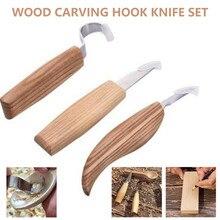 Knives-Set Chisel-Spoon-Kit Knife Woodworking-Tools Carpenter Whittling Carving Scimitar
