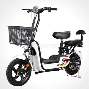 Для взрослых, фара для электровелосипеда в марганца углерода Сталь складной электрический велосипед 350W Мощный мотор 48В 12Ah/15Ah/20Ah литий Батар...