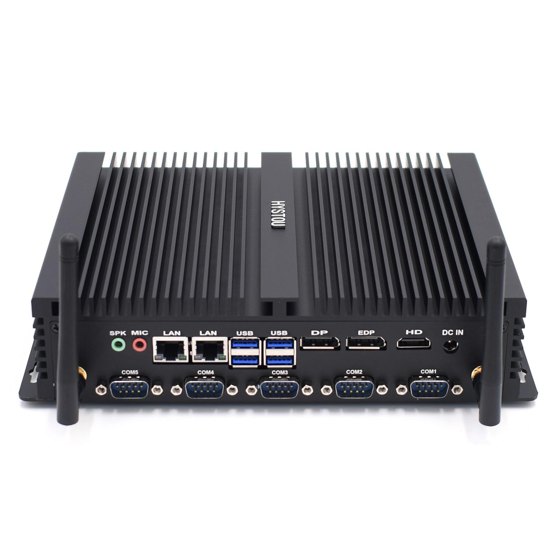 Core i7 8550U/ core i5 8250U промышленный мини-ПК 2 intel Lan HDMI DP EDP LPT SIM четырехъядерный 8th gen безвентиляторный КОМПЬЮТЕРНЫЙ СЕРВЕР