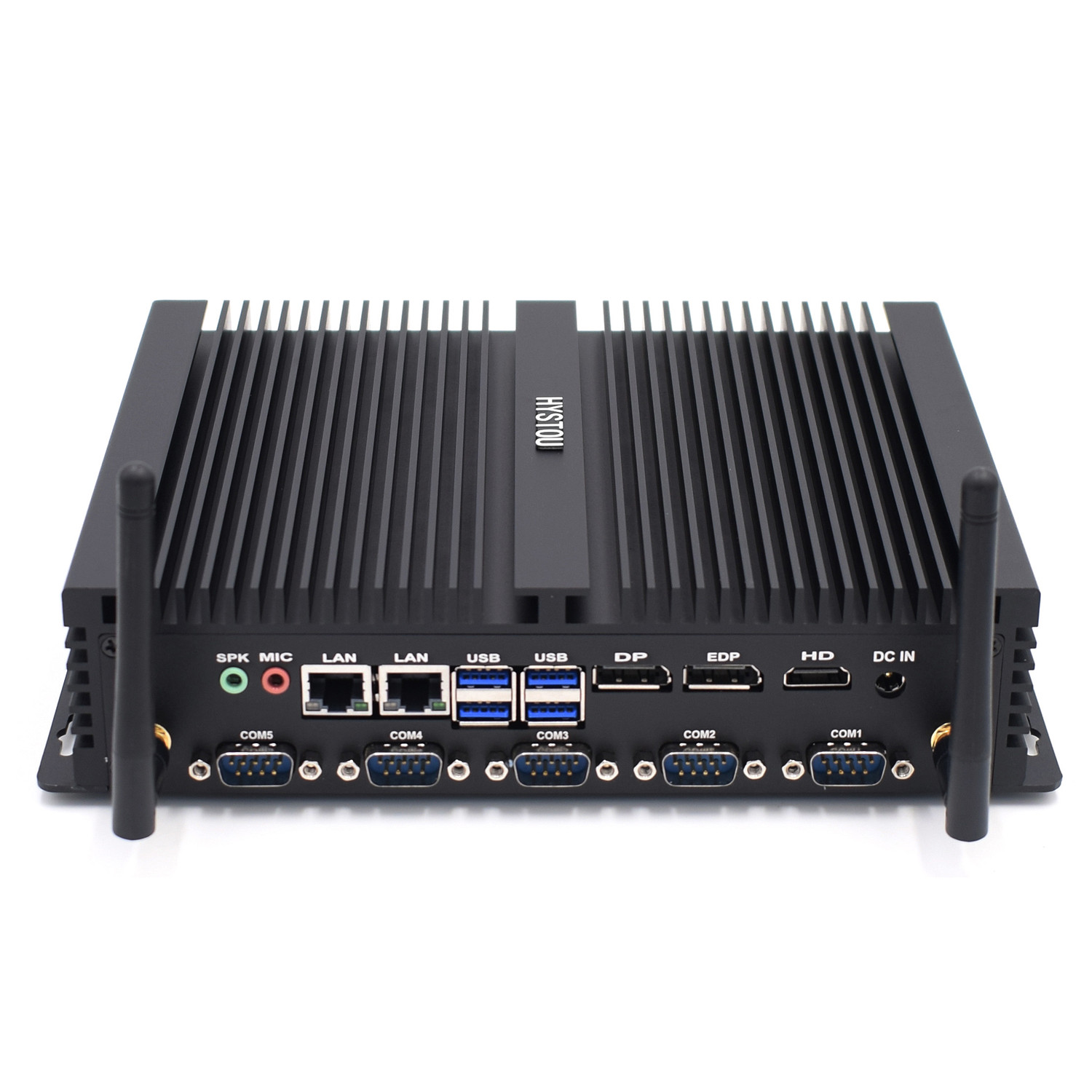Core I7 8550U/ Core I5 8250U Industrial Mini Pc 2 Intel Lan HDMI DP EDP LPT SIM Quad Core 8th Gen Fanless Computer Server