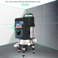 12 satır 3D yeşil Lazer seviyesi Nivel bir Lazer 360 Graus Lazer seviyesi profesyonel Livella lazerler profesyonel inşaat araçları