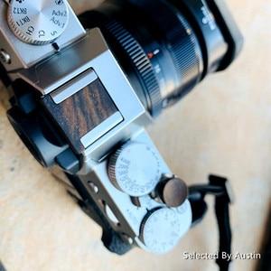 Image 5 - Wooden Wood Soft Shutter Release Button For Fuji Fujifilm XT30 X T30