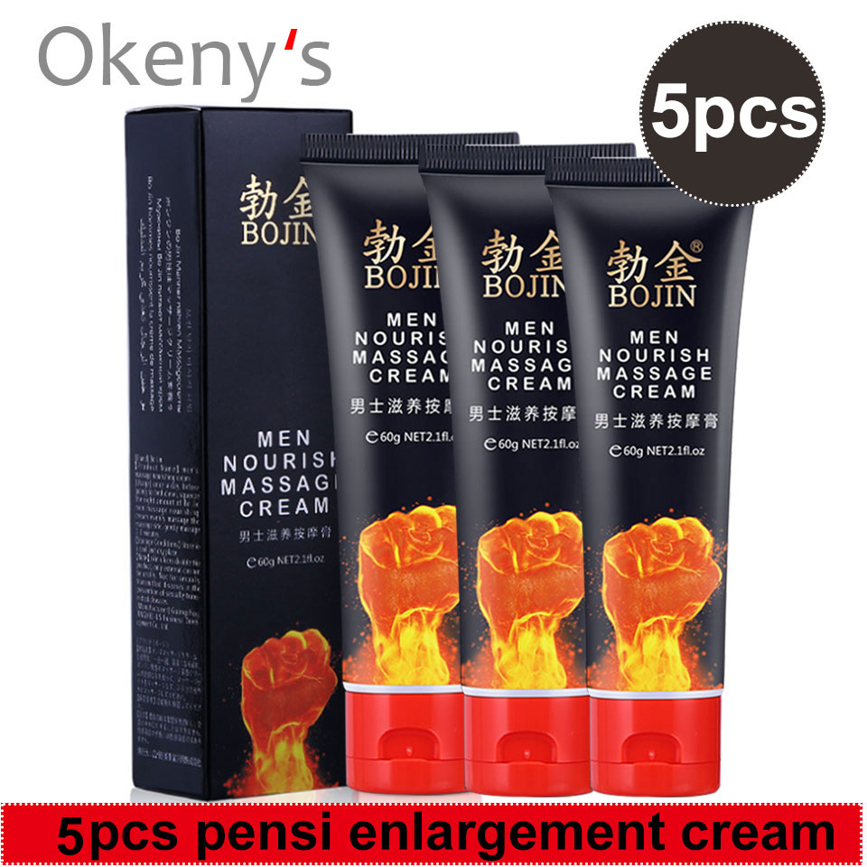 5Pcs Original Penis Enlargement Cream Intimate Goods for Man Enlarge Dick Effective Delay Ejaculation Lube Xxl Size Sex Products image