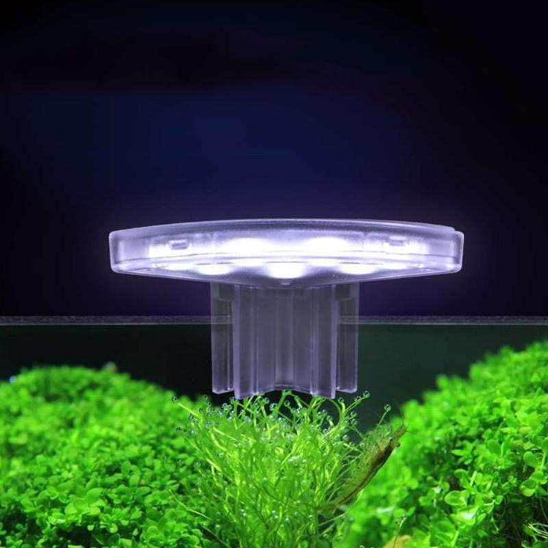Светодиодный мини-светильник для аквариума с водонепроницаемым зажимом 5 Вт, лампа для выращивания водных растений, светильник для выращив...