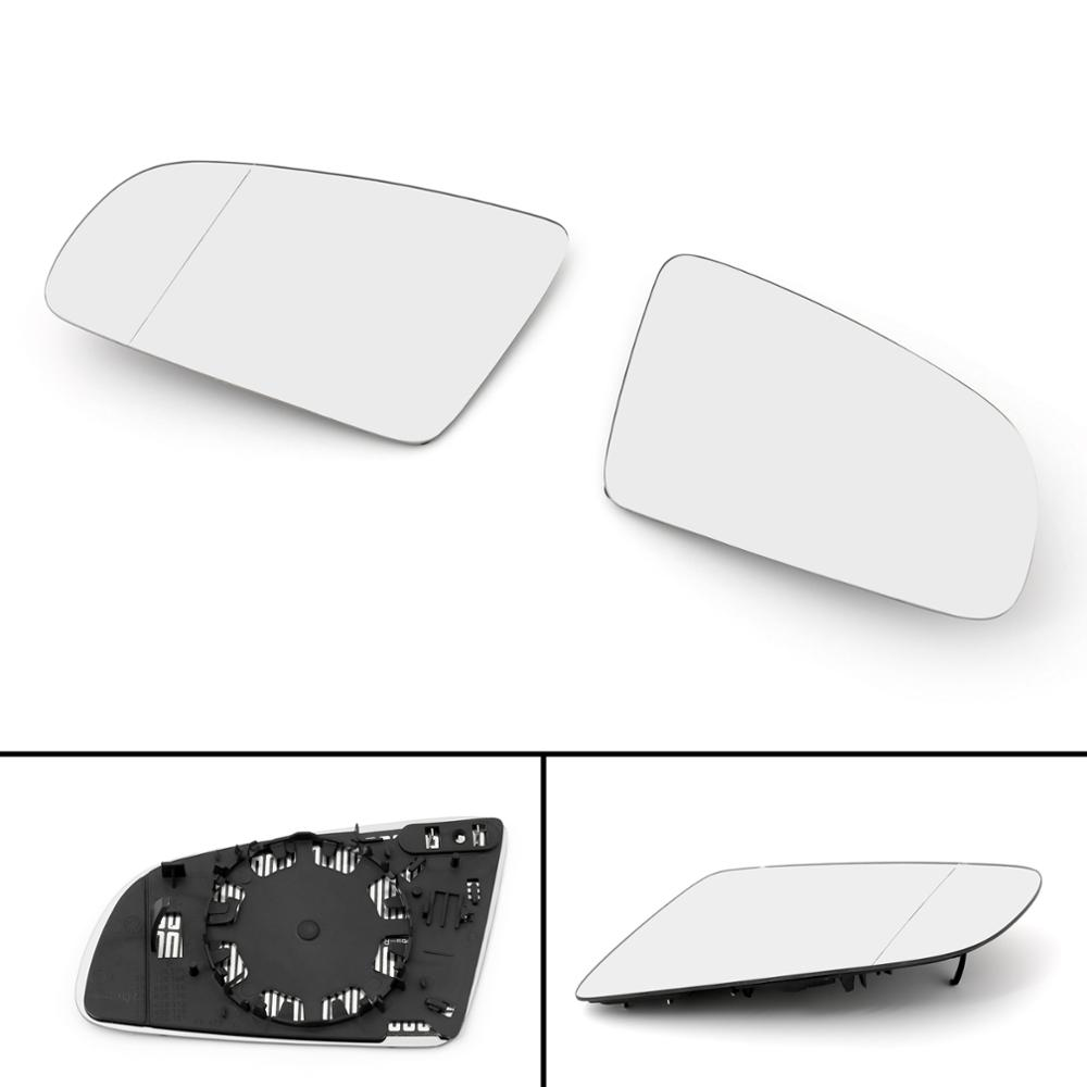 For AUDI A3 S3 A4 B6 B7 A6 S6 Front L Side Rearview Mirror Glass W// Heated USA