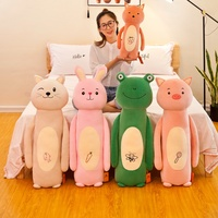 High Quality 90CM Animal Series Slender Pillow Stuffed Animals Bear Plush Toys Teddy Bear Doll Lovers Birthday Baby Gift New