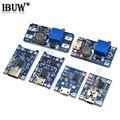5V 1A 18650 TP4056 модуль зарядного устройства литиевой батареи зарядная плата с защитой, двойные функции 1A Type-c/Micro/Mini USB MT3608