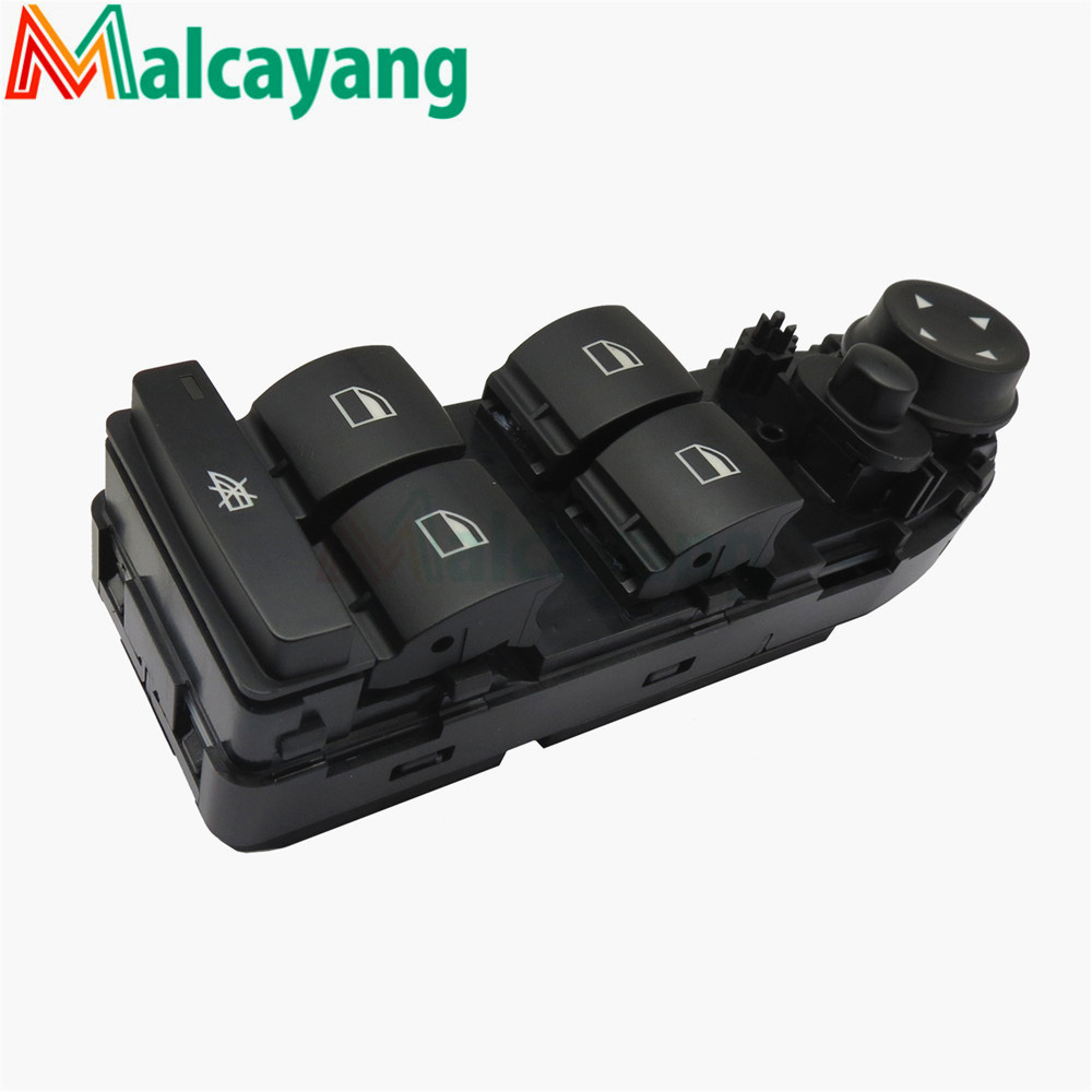 NEW Window Lifter Switch 61319155501 613 191 555 01 For BMW 3 Series ( E90 2004-2008 ) ( E91 LCI 2007-2011) image