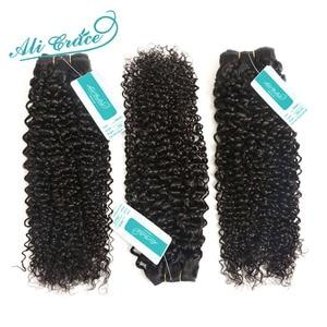 Image 2 - עלי גרייס שיער ברזילאי קינקי מתולתל שיער 1 3 ו 4 חבילות 10 28 inch טבעי שחור 100% רמי אדם מתולתל לארוג שיער חבילות