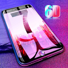 6D Curved Edge Tempered Glass For iPhone XS MAX XR X 8 7 Plus 6 6s Plus Screen Protector Film For iPhone 6 6s 8 Protective Glass 9d for iphone x xr xs max 7 6 s 6s plus 7plus tempered glass for glass iphone 7 8 x 6 xs max protective glass screen protector