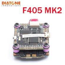 Diatone MAMBA F405 MK2 Flight Controller F40 40A 3-6S DSHOT600 Bürstenlosen ESC Für RC Modelle Multicopter Teil zubehör