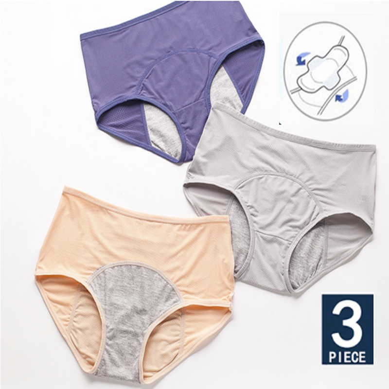 Culotte Menstruelle Women Menstrual Panties Ropa Interior Femenina Cotton Underwear Period Female Lingerie Briefs трусы женские 1