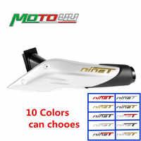 3D Wärme-beständig Motorrad Auspuffrohr Aufkleber Kühle Persönlichkeit Gradienten wasserdicht Für BMW R NEUN T R NineT r9t 3 D