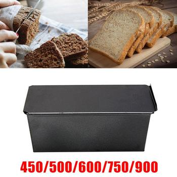 Non-Stick Bread Loaf Meatloaf Pan With Lid Iron Toast Cake Mold Kitchen Bakeware 450g 500g 600g 750g 900g 1000g Baking Supplies abbott ensure 900g