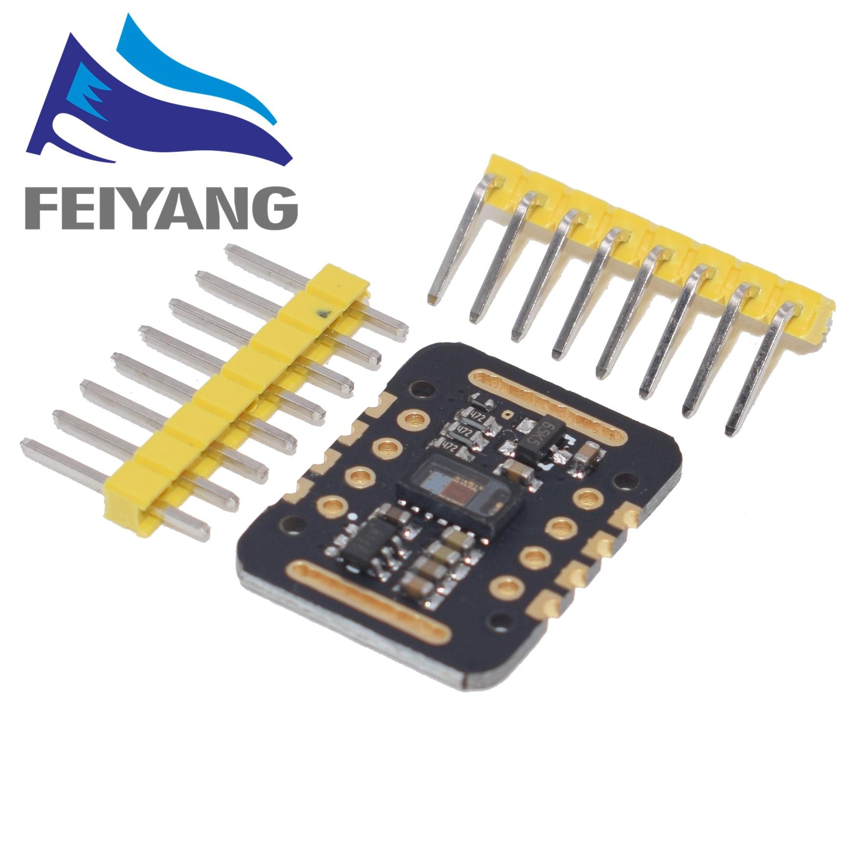 Модуль датчика сердечного ритма MAX30102, обнаружение пульса, тест на концентрацию кислорода в крови для Arduino, сверхнизкий уровень мощности