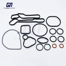 Высококачественные комплекты для ремонта масляного радиатора двигателя, прокладки для Cruze, Opel Orlando, Astra 93186324, 55353322, 55353320, 55355603, 15-5151