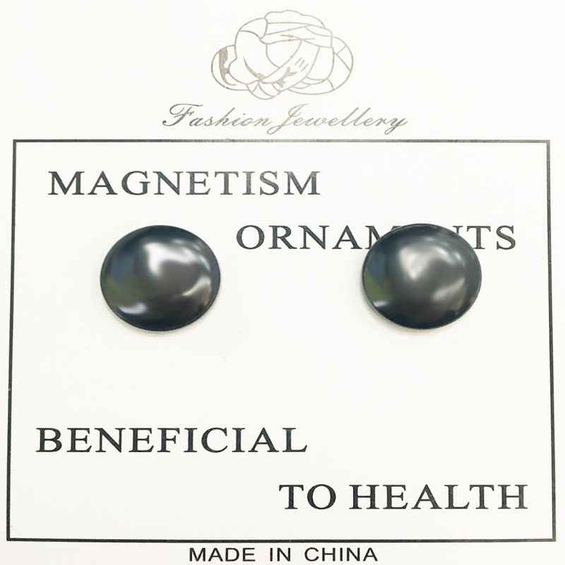 2 Stks/paar Bio Magnetische Therapie Gewichtsverlies Oorbellen Afslanken Gezondheidszorg Stimuleren Acupunten Magneet Stickers