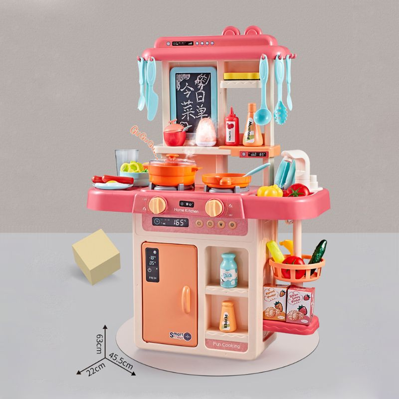 Simulated Kitchen Toys, Water Spray Tableware, Children's Toys, Cooking Table Set, Kitchen Toys For Children
