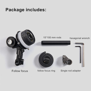 Image 5 - TILTA FF T06 MINI follow focus Lens Zoom Control Lightweight for DSLR SONY A7 A9 NIKON GH5 BMPCC 4K 6K CAGE