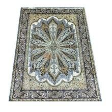 Seeykeep™ 5x7ft Silk Handknotted Turkey Rug-NY3016200
