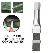 Drut mosiężny szczotka CT-352 Fin grzebień do klimatyzatora ostrze chłodzenie prostowanie szczotka narzędzie do czyszczenia 2021 nowy tanie tanio Części do narzędzi ręcznych CN (pochodzenie) J9072906 STAINLESS STEEL Do produkcji komercyjnej