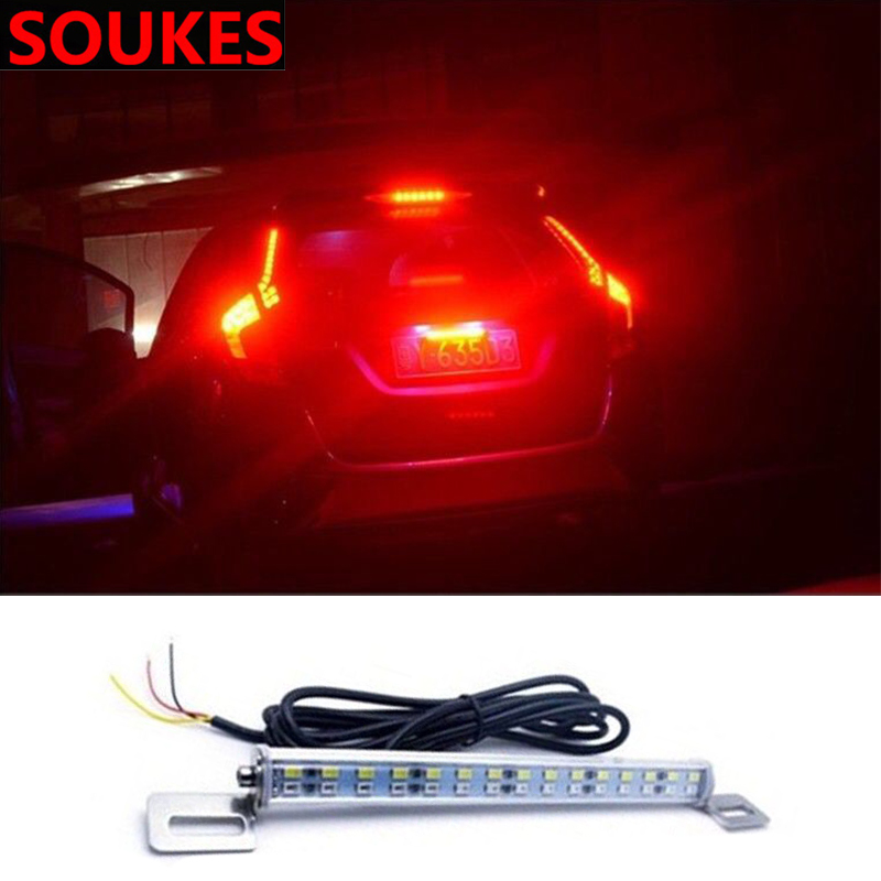 Car Reverse License Plate Light Lamp 30 45 <font><b>LED</b></font> For <font><b>Peugeot</b></font> 307 <font><b>206</b></font> 308 407 207 2008 3008 508 406 208 Mazda 3 6 2 CX-5 CX5 CX-7 image