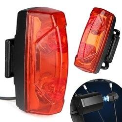 Narzędzie rowerowe światła rowerowe indukcyjne światło tylne w rowerze ostrzeżenie rowerowe generuj lampę Taillight moc magnetyczna 2020